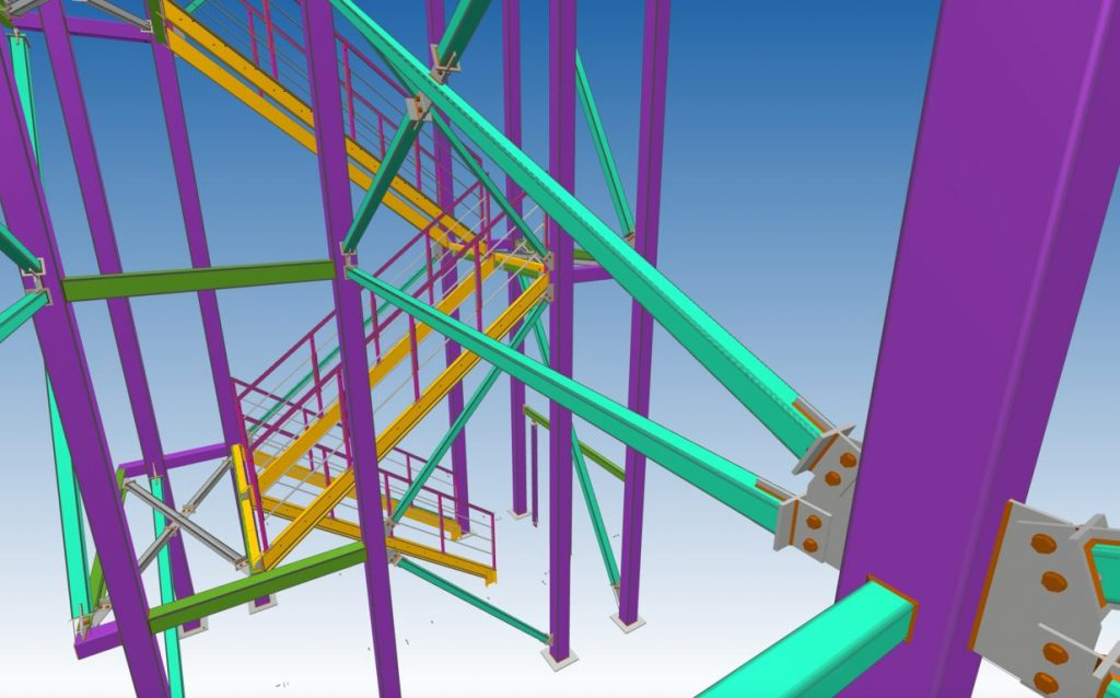 3d structural ampamp miscellaneous steel detailing