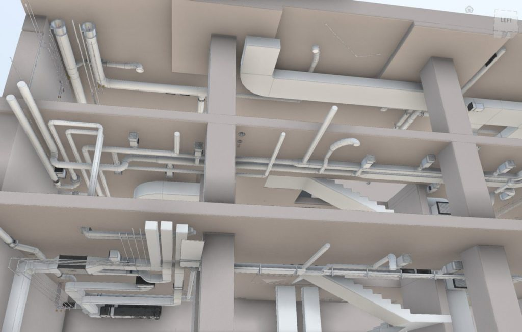 hvac duct shop drawings system